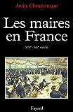 Les maires en France, XIXe-XXe siècle