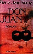 Don Juan by Pierre-Jean Rémy