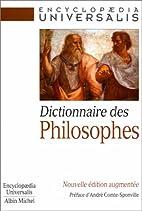 Dictionnaire des philosophes. 2ème…