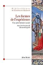 Les formes de l'expérience - Une…