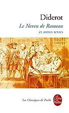 Le Neveu de Rameau Et Autres Textes (Ldp…
