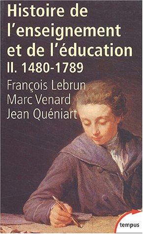 Histoire générale de l'enseignement et de l'éducation en France