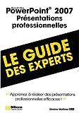 couverture du livre PowerPoint 2007 Présentations professionnelles