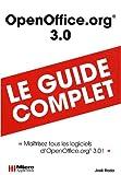 couverture du livre OpenOffice.org 3.0