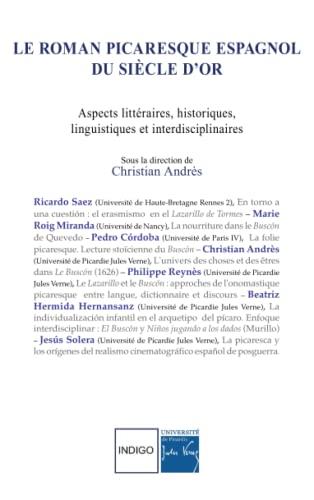 Le roman picaresque espagnol du Siècle d'Or