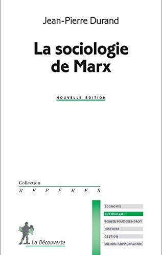 La sociologie de Marx