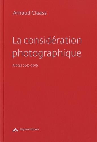 La considération photographique