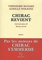 CHIRAC REVIENT Antimémoires II Retour d…