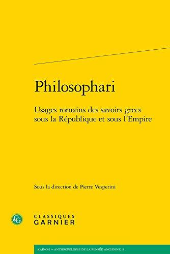 Philosophari