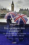 Être ou ne pas être européen ?