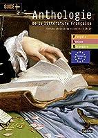 Anthologie de la littérature française:…