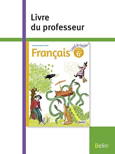 Francais 6e Cycle 3 Nouveau Programme 2016 Livre Du