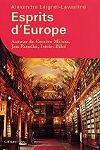 Esprits d'Europe : Autour de Czeslaw…