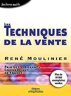 Les techniques de la vente by René…