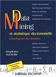 couverture du livre Data mining et statistique décisionnelle
