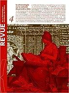 Revue de la Bibliothèque nationale de…