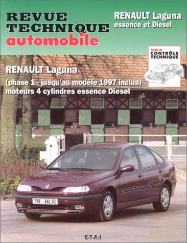revue technique automobile num ro 574 2 renault laguna essence et diesel phase 1 jusqu 39 au. Black Bedroom Furniture Sets. Home Design Ideas