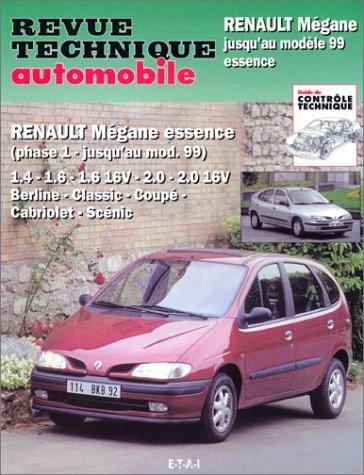 revue technique automobile num ro 593 2 renault m gane jusqu 39 au mod le 99 essence etai. Black Bedroom Furniture Sets. Home Design Ideas