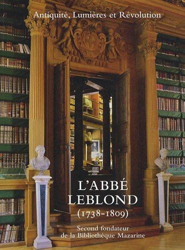 L'abbé Leblond (1738-1809)