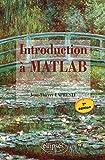couverture du livre Introduction à MATLAB