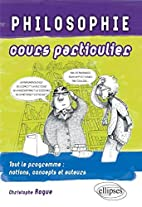 Philosophie Cours Particulier by Christophe…
