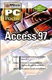 couverture du livre PC Poche ACCESS 97