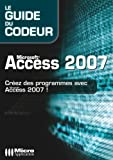 couverture du livre Access 2007