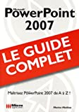 couverture du livre PowerPoint 2007