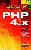 couverture du livre PHP 4.X