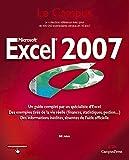 couverture du livre Microsoft Excel 2007