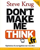 couverture du livre Don't make me think