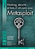 couverture du livre Hacking, sécurité et tests d'intrusion avec Metasploit
