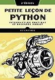 couverture du livre Petite leçon de Python