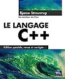 couverture du livre Le langage C++