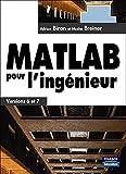 couverture du livre MATLAB pour l'ingénieur