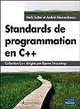 couverture du livre Standards de programmation en C++