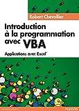 couverture du livre Introduction à la programmation avec VBA