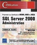 couverture du livre SQL Server 2000