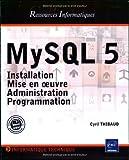 couverture du livre MySQL 5