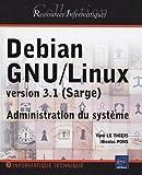 couverture du livre Debian GNU/Linux 3.1 (Sarge)