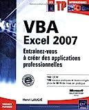 couverture du livre VBA Excel 2007