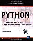 couverture du livre Python