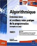 couverture du livre Algorithmique - Travaux Pratiques
