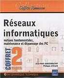 couverture du livre Réseaux Informatiques (Coffret de 2 livres)