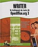 couverture du livre WRITER