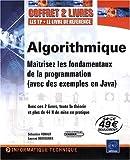 couverture du livre Algorithmique