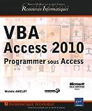 couverture du livre VBA ACCESS 2010