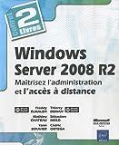 couverture du livre Windows Server 2008 R2 - Coffret de 2 livres : Maîtrisez l'administration et l'accès à distance