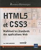 couverture du livre HTML5 et CSS3