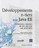 couverture du livre Développements n-tiers avec Java EE